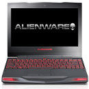 Dell Alienware M11x front opened